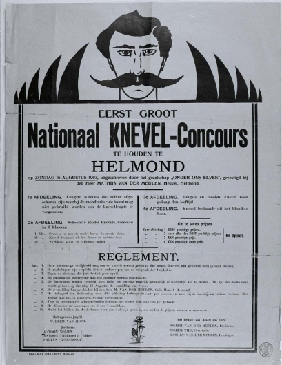 Affiche nationaal knevelconcours