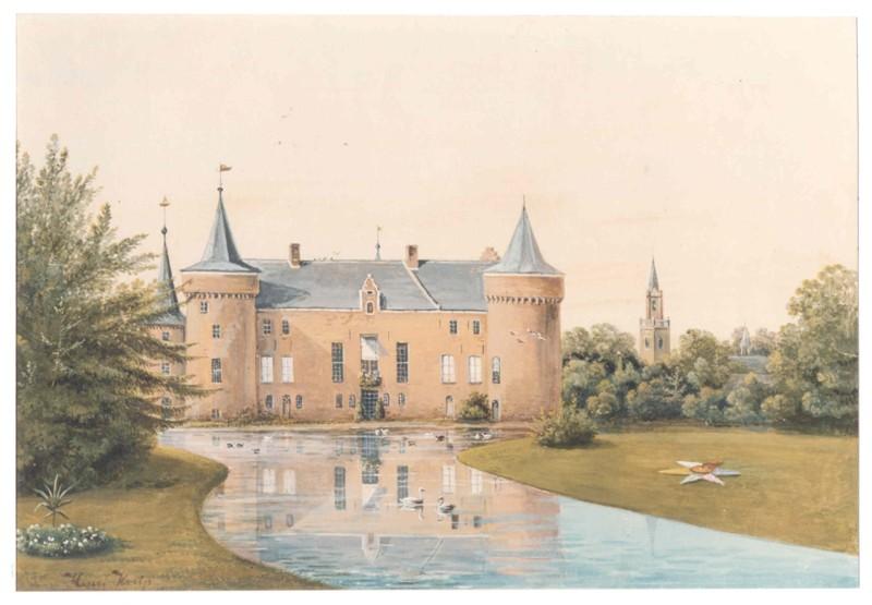 Chateau Vloeren Helmond : De zuidkant van het kasteel 1 geschiedenis helmond